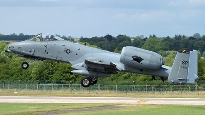 81-0954 - Fairchild OA-10A Thunderbolt II - United States - US Air Force (USAF)