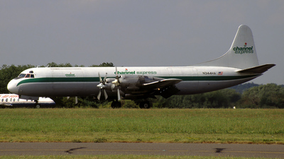 N344HA - Lockheed L-188A(F) Electra - Channel Express