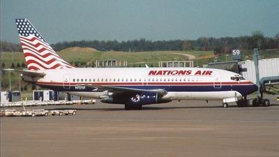 N7375F - Boeing 737-291 - Nations Air