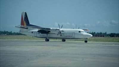 PH-PRB - Fokker 50 - Philippine Airlines
