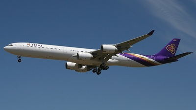 F-WWCJ - Airbus A340-642 - Thai Airways International