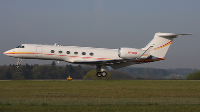 VP-BSN - Gulfstream G-V - Shell Aviation