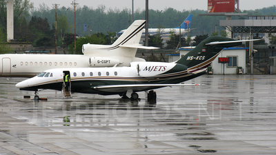 HS-KCS - Cessna 750 Citation X - MJets