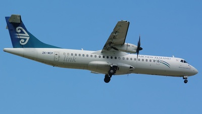 ZK-MCP - ATR 72-212A(500) - Air New Zealand Link (Mount Cook Airline)