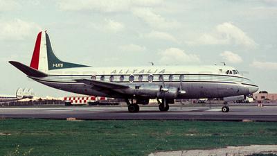 I-LITS - Vickers Viscount 745D - Alitalia