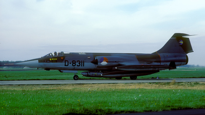 D-8311 - Lockheed RF-104G Starfighter - Netherlands - Royal Air Force