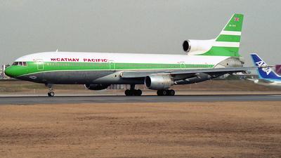 VR-HHX - Lockheed L-1011-1 Tristar - Cathay Pacific Airways
