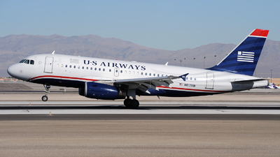 N817AW - Airbus A319-132 - US Airways