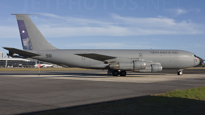 981 - Boeing KC-135E Stratotanker - Chile - Air Force