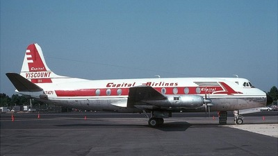 N7471 - Vickers Viscount 798D - Capital Airlines