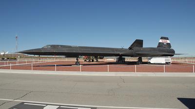 N844NA - Lockheed SR-71A Blackbird - United States - National Aeronautics and Space Administration (NASA)