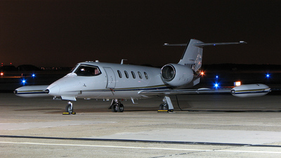 N111KR - Gates Learjet 35A - Private