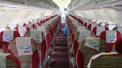 PT-MZD - Airbus A319-132 - TAM Linhas Aéreas
