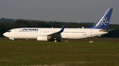EI-DND - Boeing 737-86N - Futura International Airways