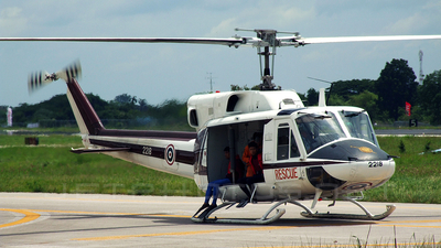 2218 - Bell 212 - Thailand - Royal Thai Police Wing