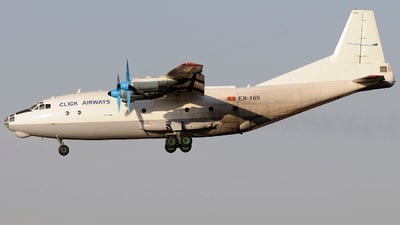 EX-169 - Antonov An-12BP - Click Airways