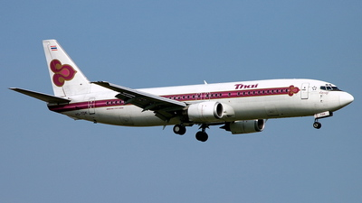 HS-TDK - Boeing 737-4D7 - Thai Airways International
