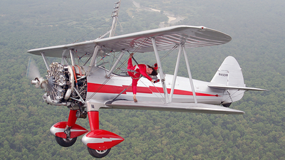 N450SR - Boeing B75N1 Stearman - Private