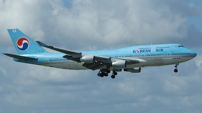 HL7487 - Boeing 747-4B5 - Korean Air