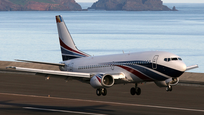 YR-TIB - Boeing 737-3L9 - Ion Tiriac Air