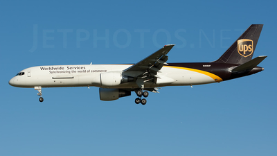 A picture of N408UP - Boeing 75724APF - UPS Airlines - © Cary Liao