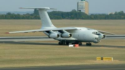 ER-IBV - Ilyushin IL-76 - Jet Line International