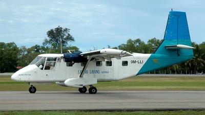 9M-LLI - GAF N22C Nomad - Layang-Layang Aerospace