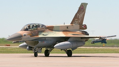 673 - Lockheed Martin F-16D Fighting Falcon - Israel - Air Force