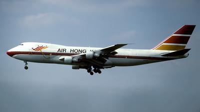 VR-HKN - Boeing 747-132(SF) - Air Hong Kong