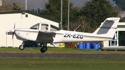 ZK-EZG - Piper PA-38-112 Tomahawk - New Zealand - Air Force Aviation Sports Club