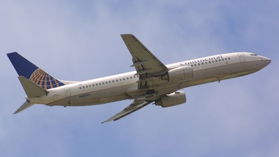 N16234 - Boeing 737-824 - Continental Airlines