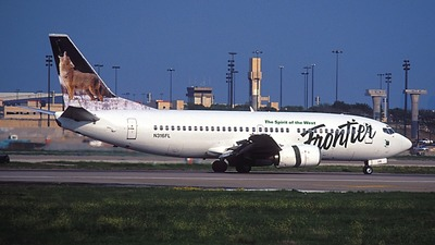 N316FL - Boeing 737-36E - Frontier Airlines