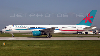 G-OOBH - Boeing 757-236 - First Choice Airways