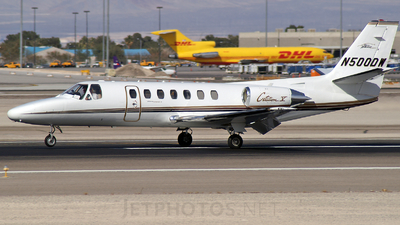 N500DW - Cessna 560 Citation V - Private