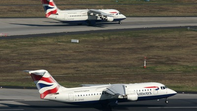 G-CFAC - British Aerospace Avro RJ100 - British Airways (CitiExpress)