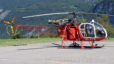 HB-XTM - Aérospatiale SA 315B Lama - Berner Oberländer Helikopter (BOHAG)