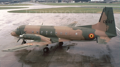 CS-02 - Hawker Siddeley HS-748 Series 2A - Belgium - Air Force