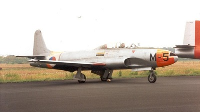 M-5 - Lockheed T-33A T-Bird - Netherlands - Royal Air Force