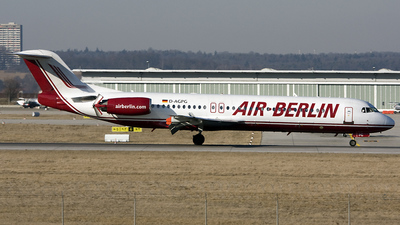 D-AGPG - Fokker 100 - Air Berlin (Germania)
