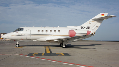 EC-JNY - Raytheon Hawker 800XPi - Gestair Private Jets
