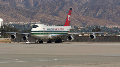 N479EV - Boeing 747-132C - Evergreen International Airlines