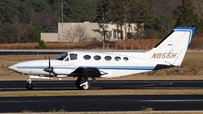N855H - Cessna 414A Chancellor - Private