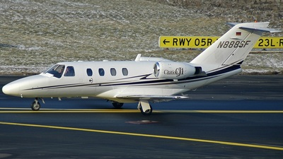 N888SF - Cessna 525 CitationJet 1 - Steiner Film Aviation
