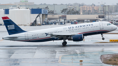 N107US - Airbus A320-214 - US Airways