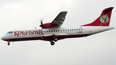F-WWEP - ATR 72-212A(500) - Kingfisher Airlines