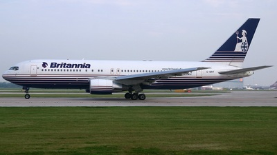 G-BRIF - Boeing 767-204(ER) - Britannia Airways