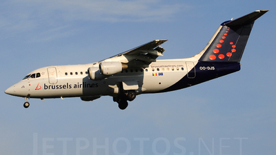 OO-DJS - British Aerospace Avro RJ85 - Brussels Airlines