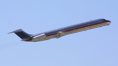 N806US - McDonnell Douglas MD-82 - United States - Department of Justice (JPATS)