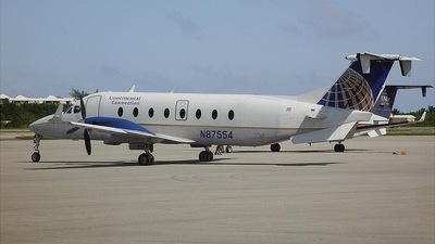 N87554 - Beech 1900D - Continental Connection (Gulfstream International Airlines)