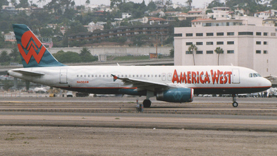 N620AW - Airbus A320-231 - America West Airlines